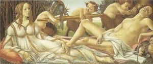 Mars und Venus, Sandro Boticelli, 1483