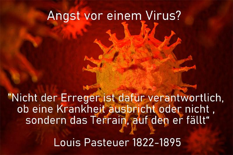 Angst vor einem Virus?