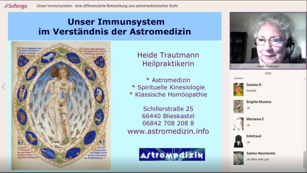 Video – Unser Immunsystem – eine differenzierte Betrachtung aus astromedizinischer Sicht